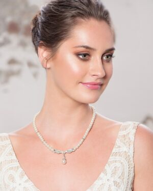 Chic Pearl Set – (Silver)